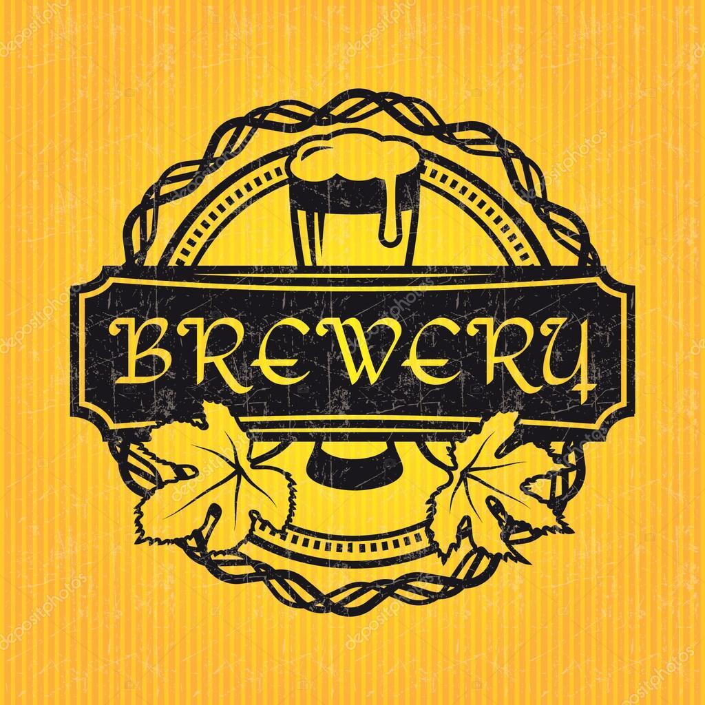 plantilla de diseño de etiquetas de cerveza — Vector de stock ...