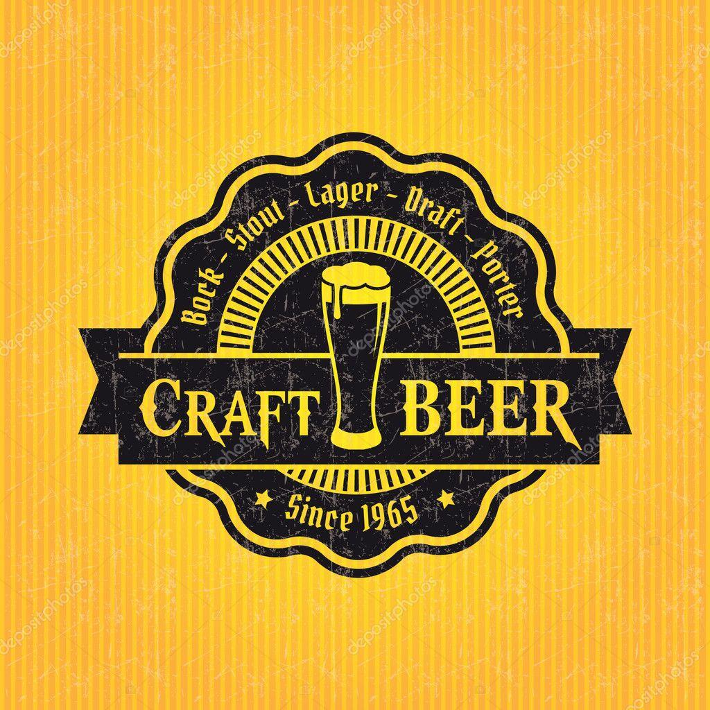 beer label design template stock vector antisana 42963333