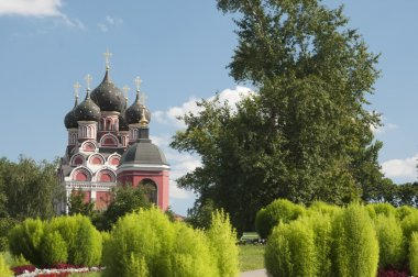 Russia, Moscow, the temple of Tihvinskaya icon of Our Lady in th