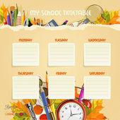 Fényképek iskolai ütemtervet. menetrend