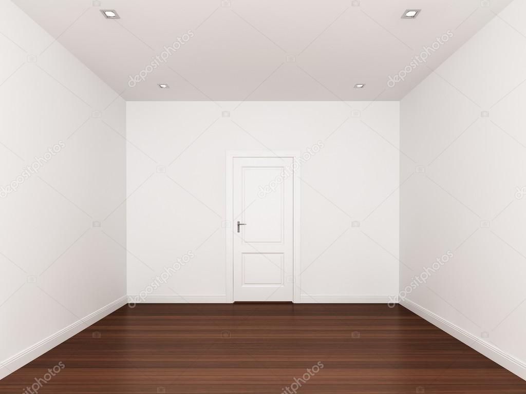 pared blanca habitaci n vac a 3d interior foto de