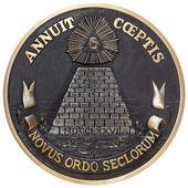 Fotografie Dollar pyramid coin