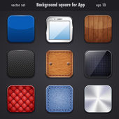 Background square for app