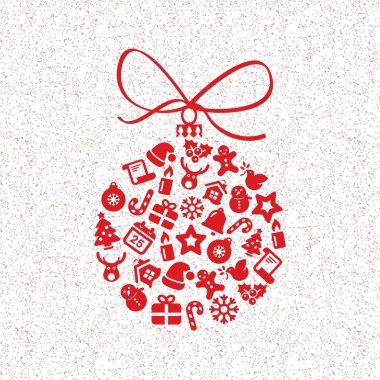 christmas ball icons