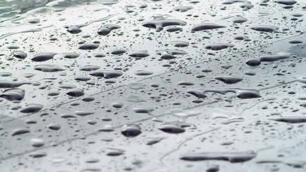 Drop Background: Raindrops On Car Glass