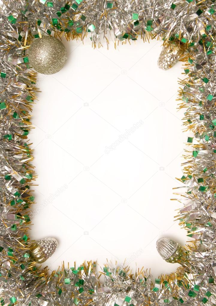 un marco para la tarjeta de Navidad — Fotos de Stock © Ludmilafoto ...