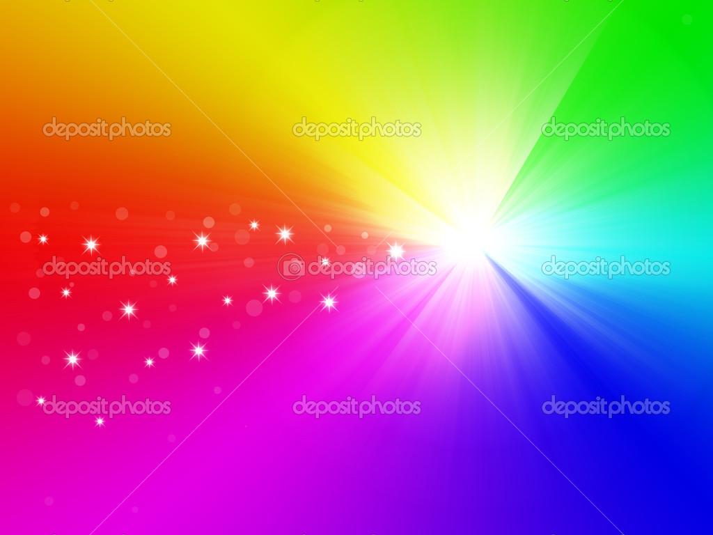 Stella di natale su sfondo arcobaleno foto stock - Immagini di gufi arcobaleno ...