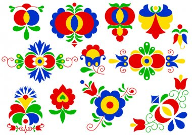 Moravian folk ornaments