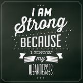 erős, mert tudom, hogy az én gyenge
