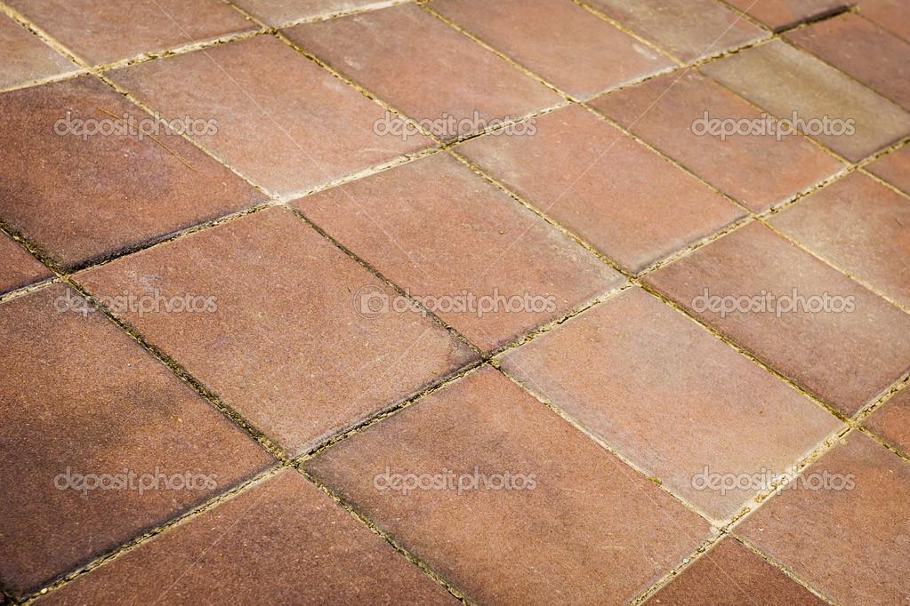 Tegels Met Patroon : Stenen rode tegels vloer patroon u stockfoto tortoon