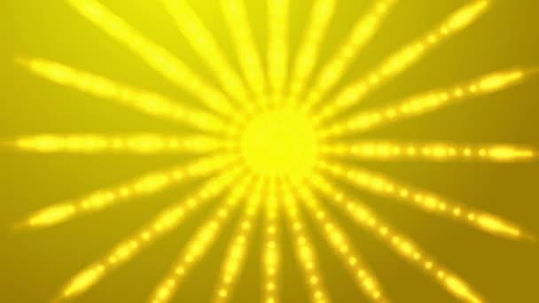 abstraktní kaleidoskop v fialová, fialová, žlutá, zelená, s hvězdami, ohňostroje, linky