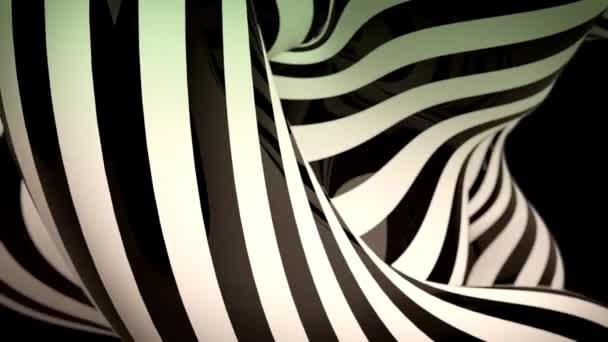 mozgó zebra vonalak