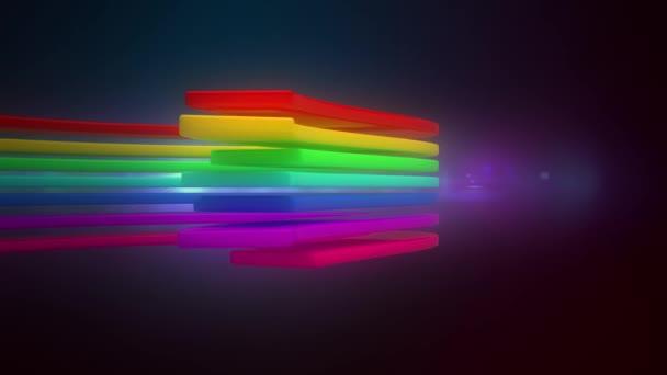 abstraktní pohybu čáry