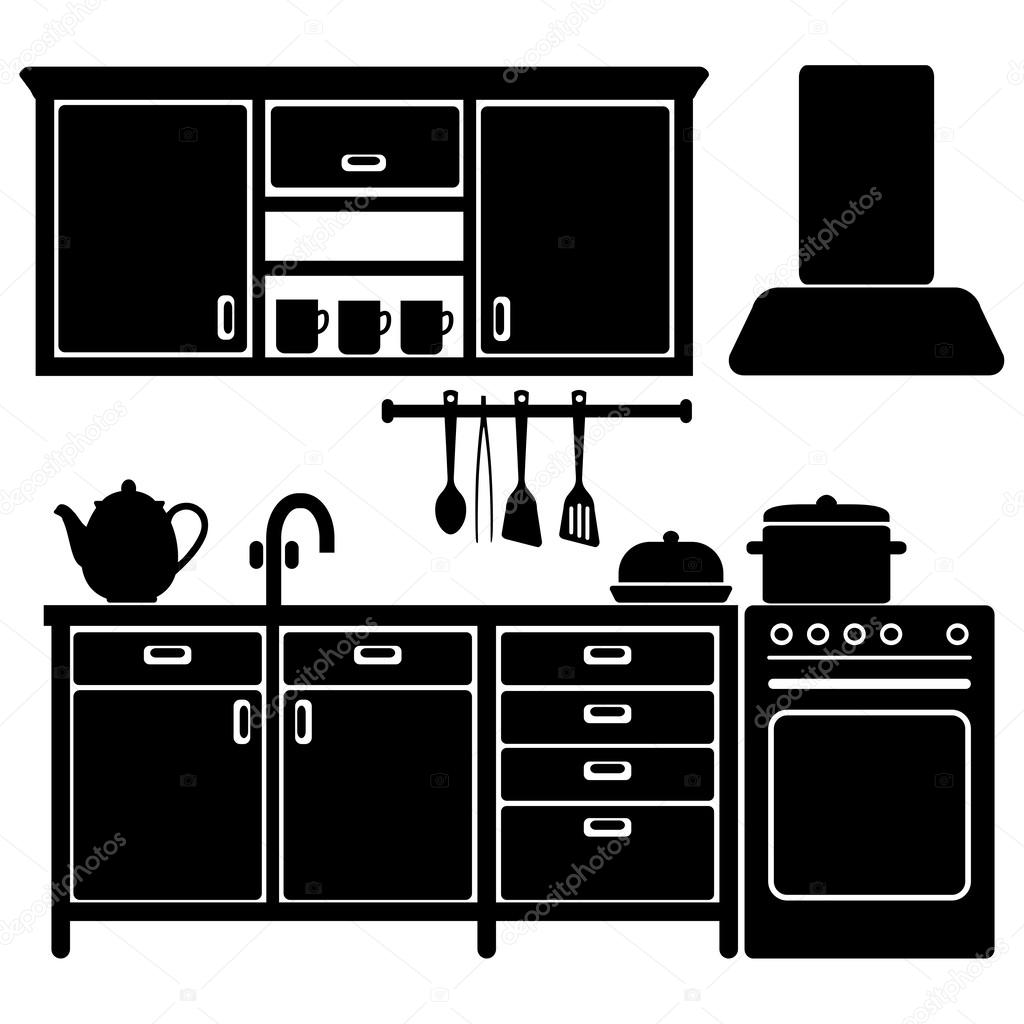 Kitchen Cabinet Icons