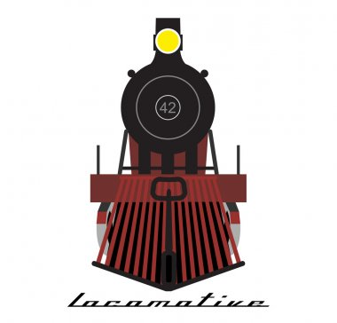 Train locomotive icon