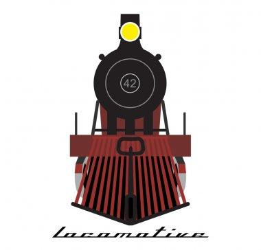 Train locomotive icon