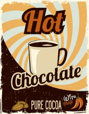 Hot Chocolate retro oster