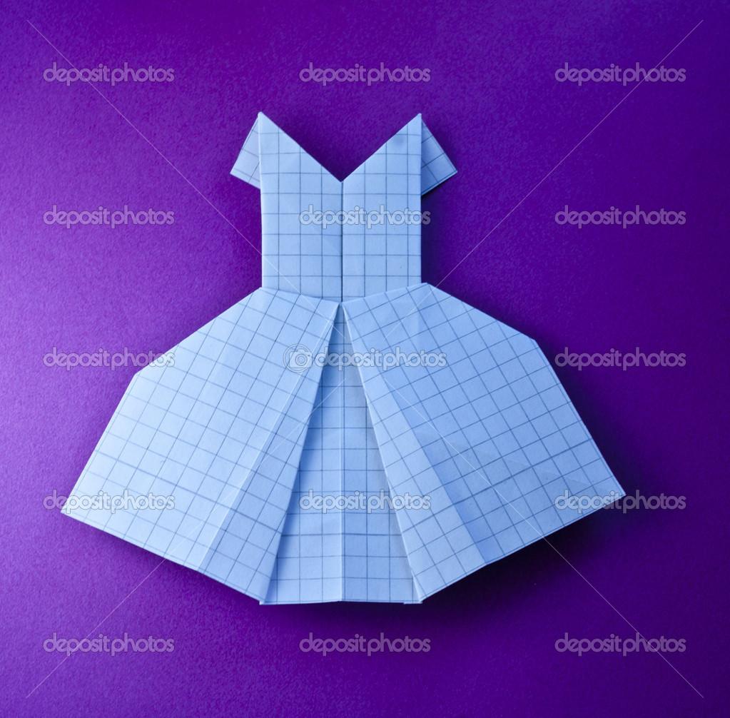 Origami dress stock photo gralu 37706417 origami dress stock photo 37706417 jeuxipadfo Choice Image
