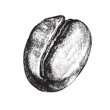 Vintage coffee bean