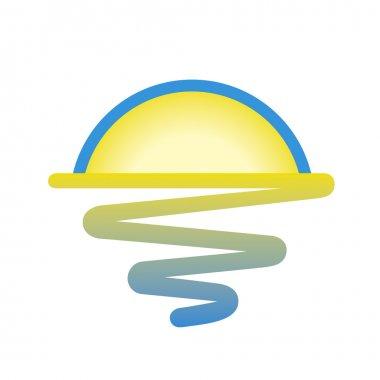 Sunrise symbol