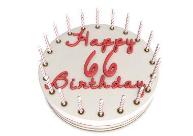 cream pie for 66th birthday