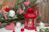 červená Lucerna s Candlelight