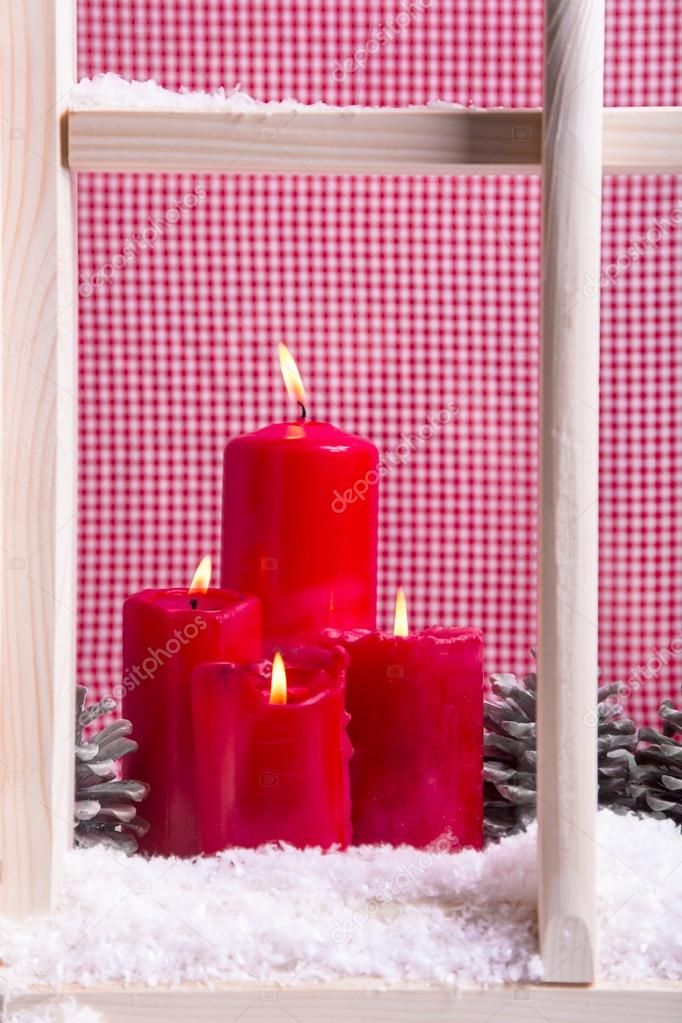 Decorazione di davanzale finestra natale foto stock jeanette dietl 33597021 - Davanzale finestra interno ...