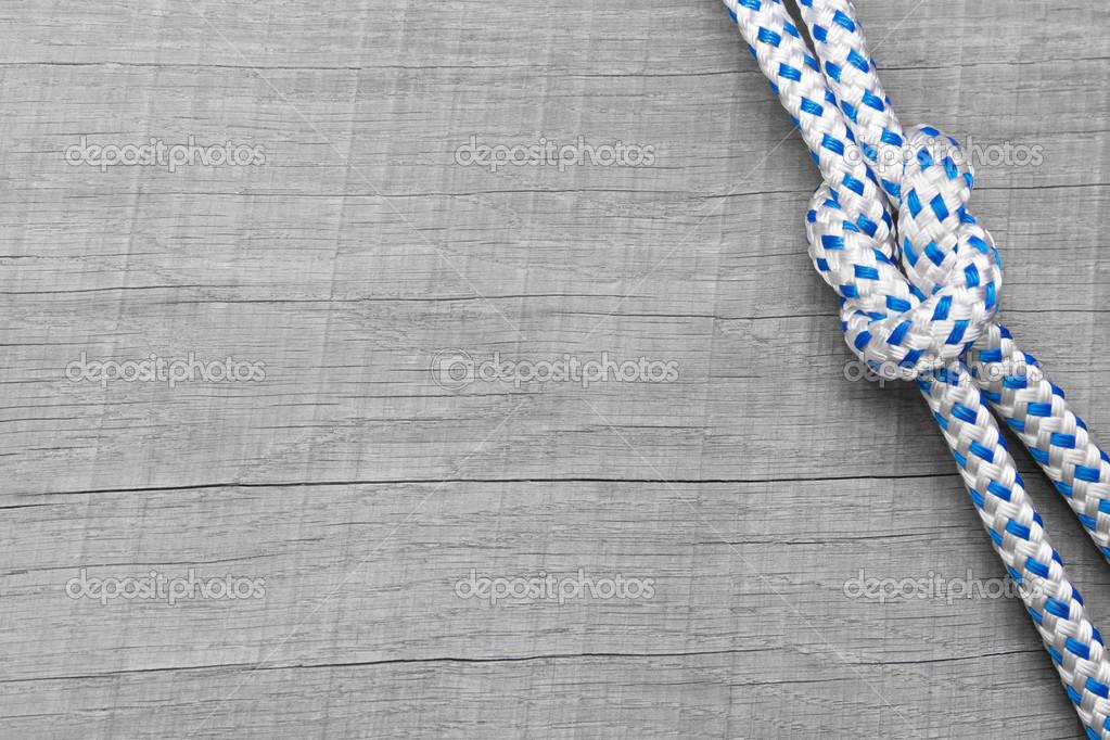 Knoten nautische Hintergrund — Stockfoto © Jeanette.Dietl #34632667