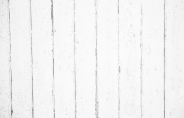 Shabby chic style: old wood background in white color - patterne