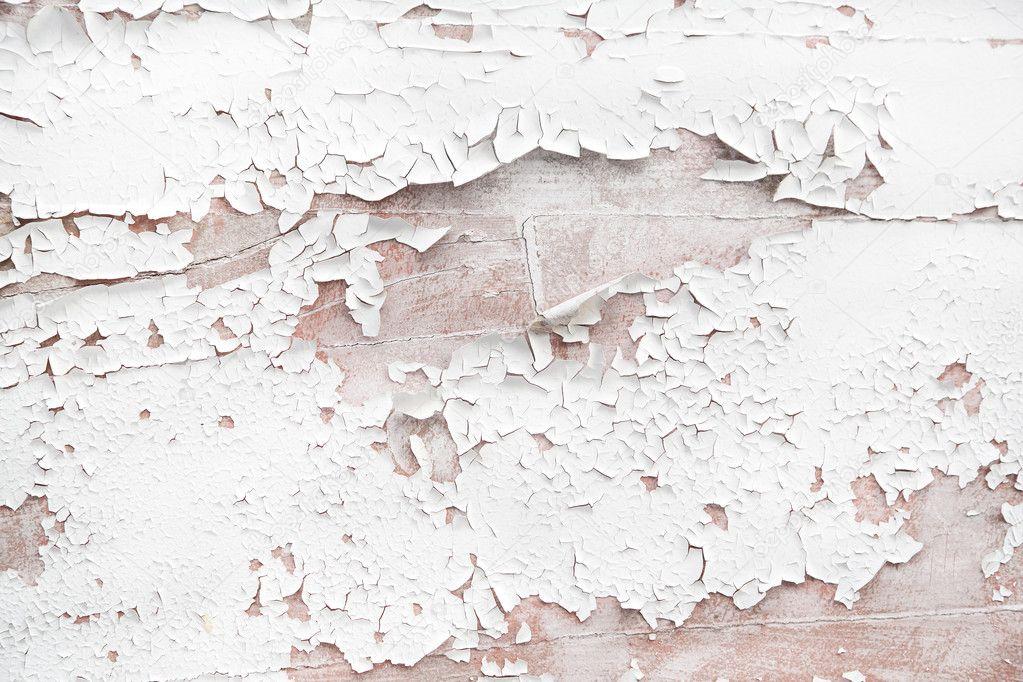 Shabby Chic Style Or Vintage Background Of White Wood Stock Photo