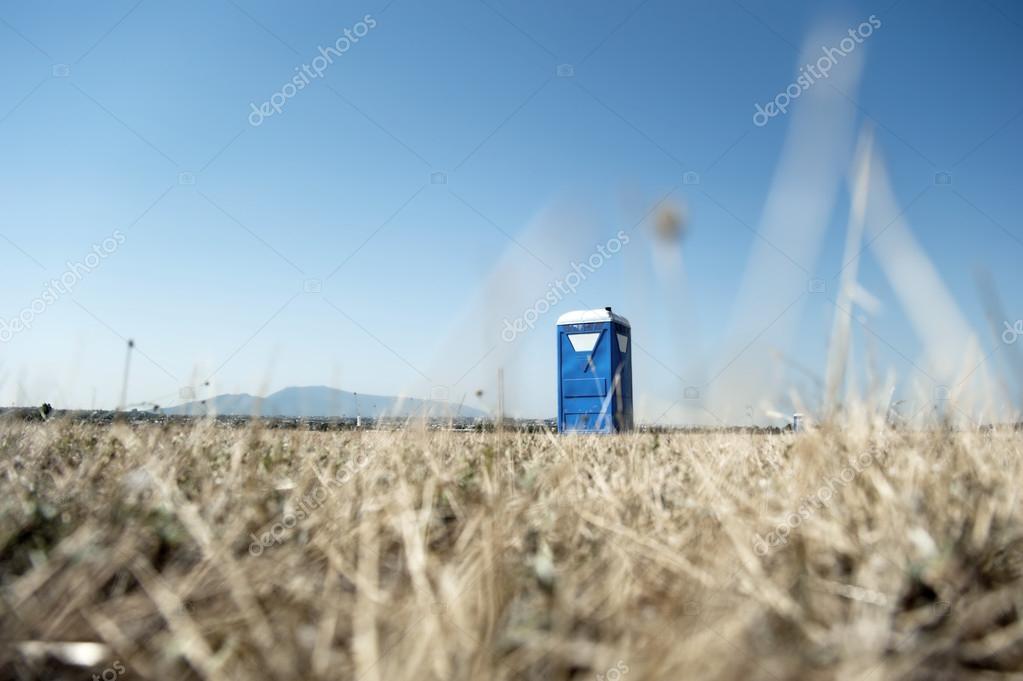Portable toilette cabin