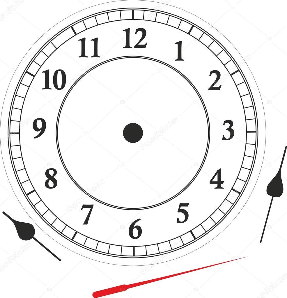 Uhr — Stockfoto © fffranzzz #43411699