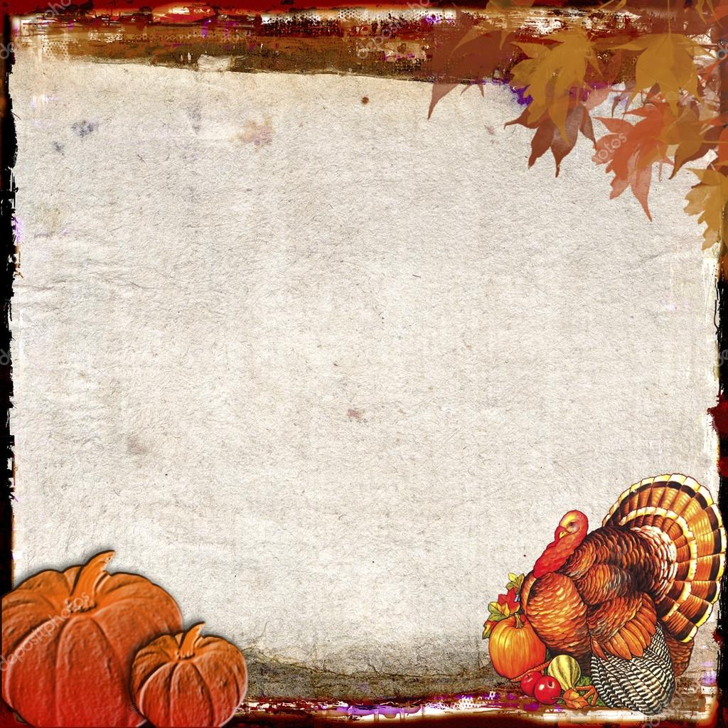 Thanksgiving Background Design Stock Photo