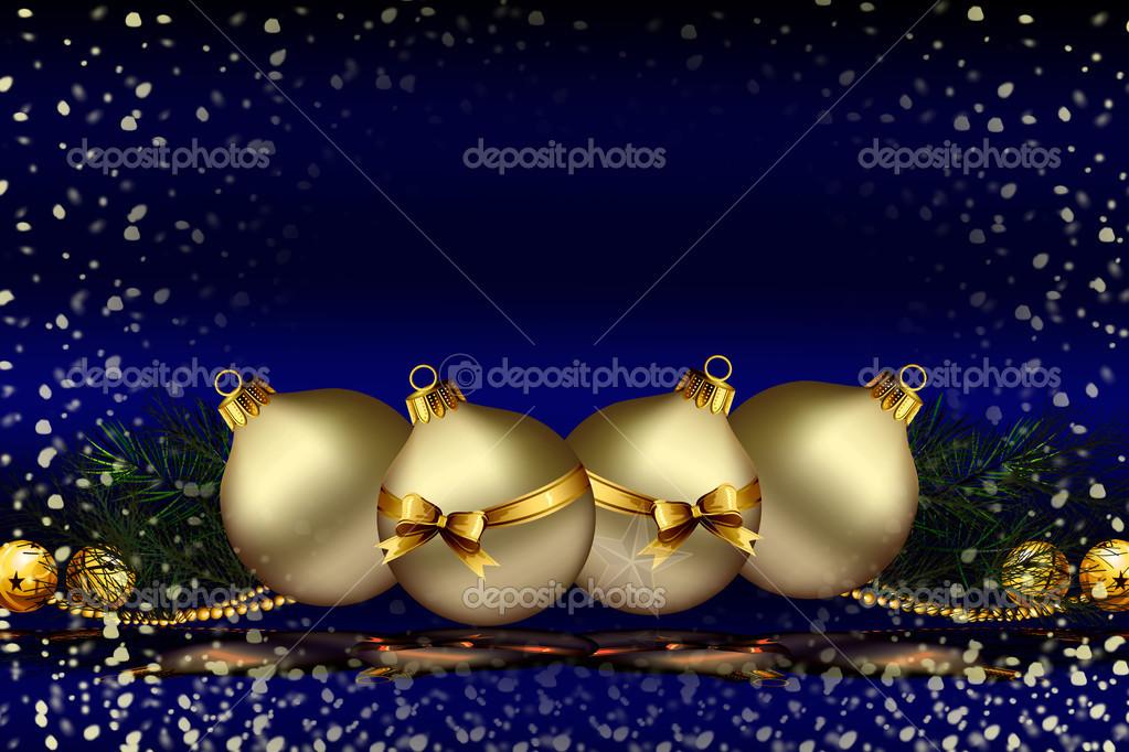 blaue weihnachts hintergrund design stockfoto time 77. Black Bedroom Furniture Sets. Home Design Ideas