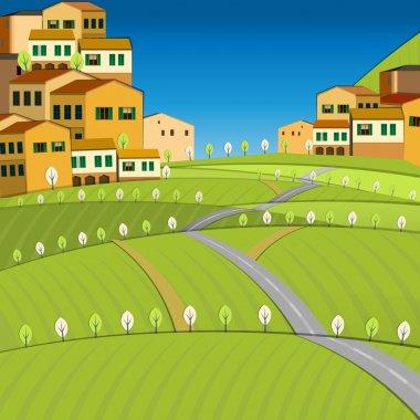 Italy City landscape