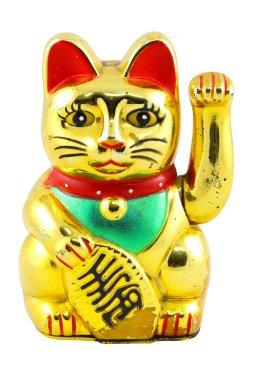 Gold Maneki Neko Japan Lucky Cat