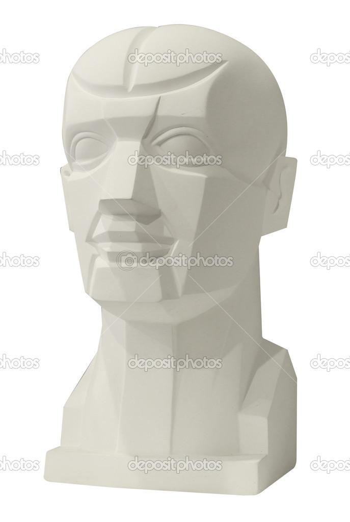 esculturas anatomía cabeza para clase de dibujo — Fotos de Stock ...
