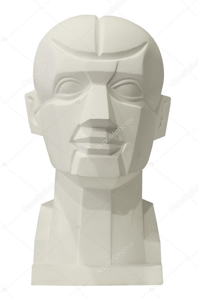 esculturas anatomía cabeza para clase de dibujo — Foto de stock ...
