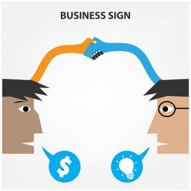 Business creative concept