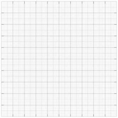 Square grid millimetre graph paper background. Vector illustrati