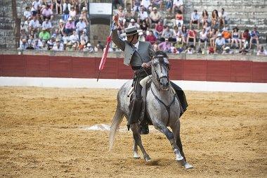 Antonio Domecq, bullfighter on horseback spanish
