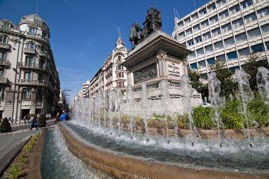 Monument to Isabel La Catolica and Cristobal Colon