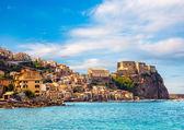 Fotografia Castello scilla, in calabria, Italia