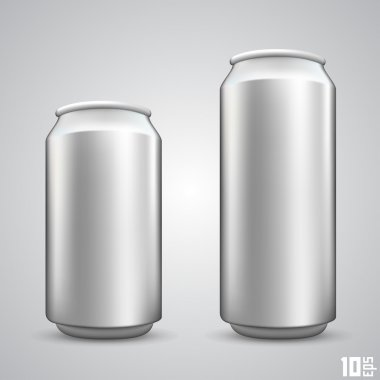 Large and small beer can