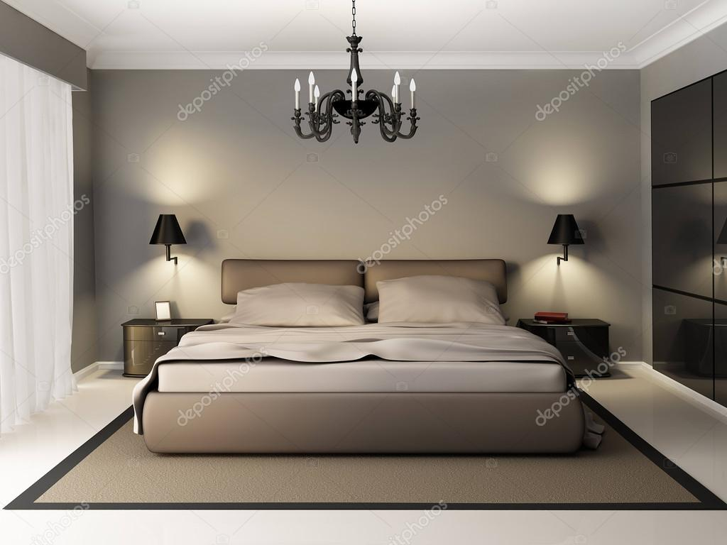 moderne interieur slaapkamer — Stockfoto © kuprin33 #39844179
