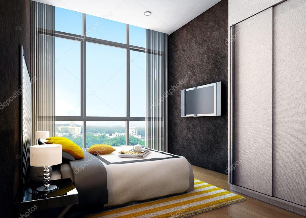 Camera da letto moderna interni foto stock kuprin33 39844277 - Foto camera da letto moderna ...