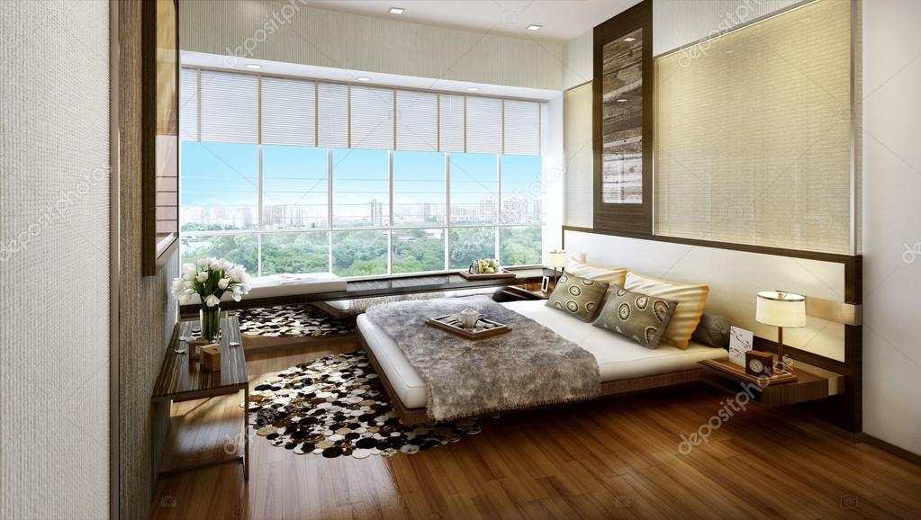 moderne interieur slaapkamer — Stockfoto © kuprin33 #39844391