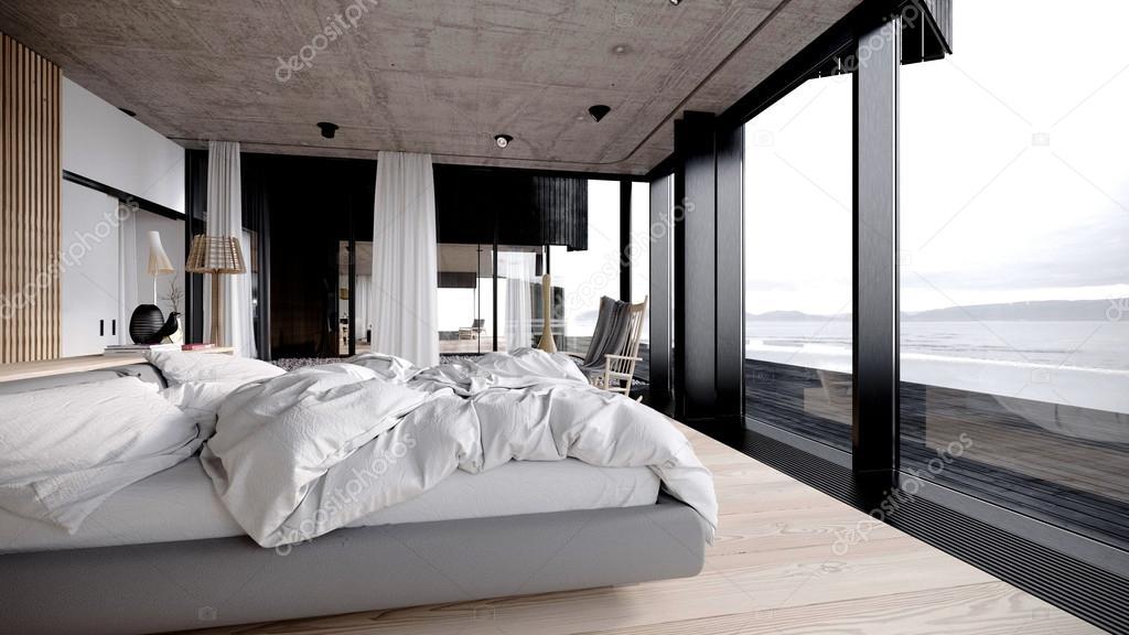 moderne interieur slaapkamer — Stockfoto © kuprin33 #39844509