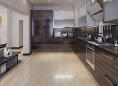 Jídelní kuchyně moderní styl