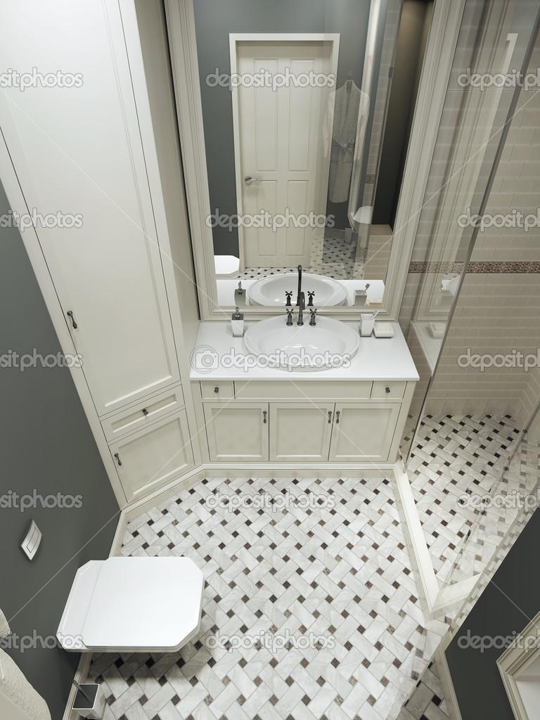 badkamer landelijke stijl — Stockfoto © kuprin33 #49110127